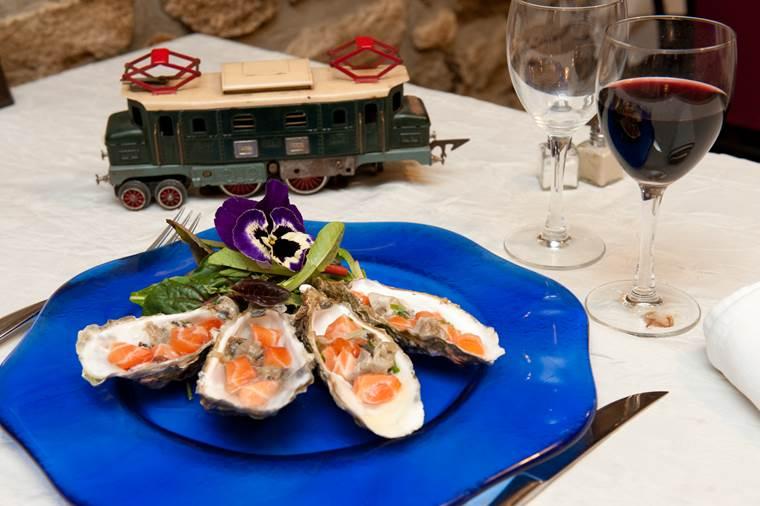 Restaurant-Auberge-du-chemin-de-fer-Lanester-Lorient-Morbihan-Bretagne-sud © Auberge du chemin de fer