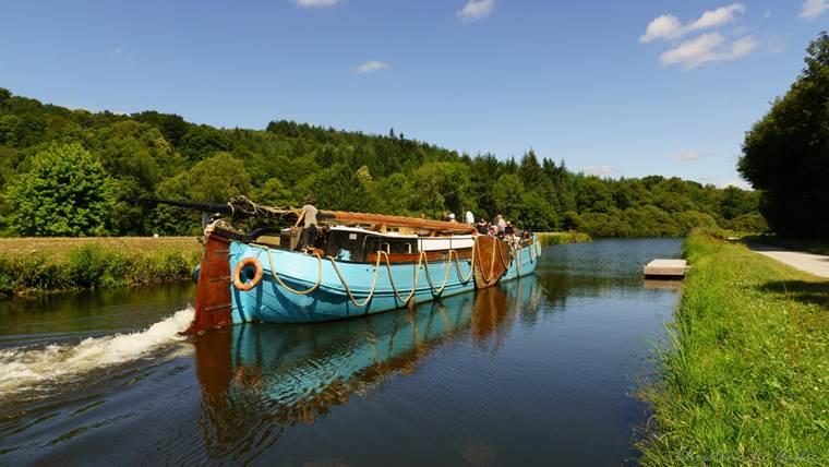 Au fil de dl'eau croisières maritimes et fluviales-Hennebont-Morbihan Bretagne Sud ©