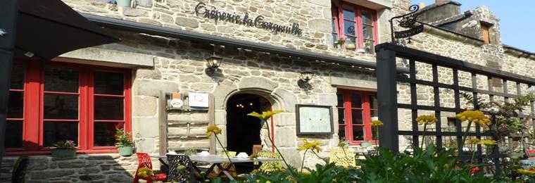 Restaurant La Gargouille-Le Guerno-Tourisme arc sud bretagne ©