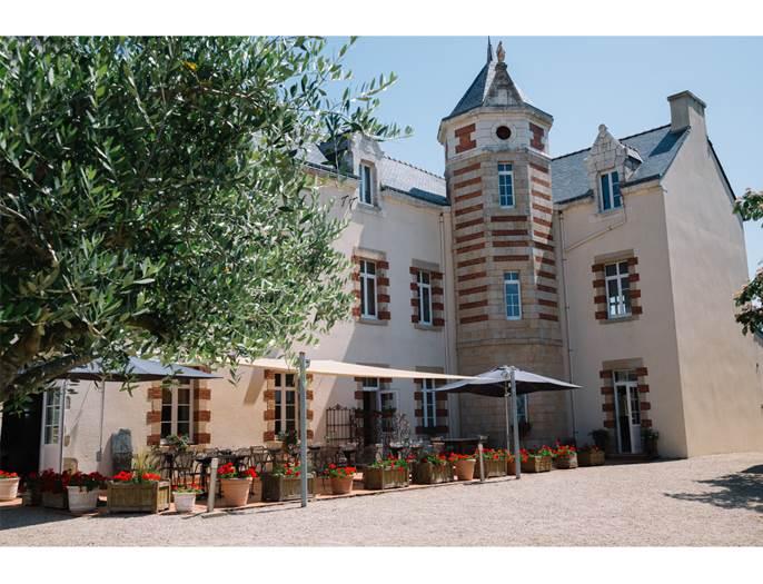 Salle-Restaurant-Le-Manoir-de-Kerbot-Sarzeau-Presqu'île-de-Rhuys-Golfe-du-Morbihan-Bretagne sud © Studio Fun Images