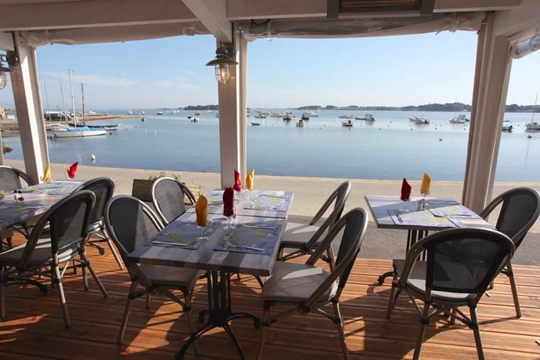 Restaurant-Le-Petit-Port-Presqu'île de Rhuys-Sarzeau-Golfe-du-Morbihan-Bretagne sud © Le Petit Port