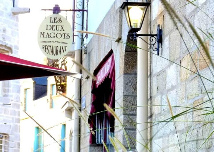 Restaurant l'Auberge des Deux Magots-Morbihan-Bretagne-Sud ©