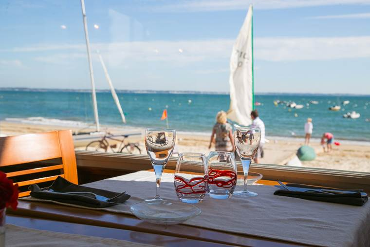 Restaurant la plage-Saint-Pierre-Quiberon-Morbihan-Bretagne Sud-3 © Restaurant la plage-Saint Pierre Quiberon