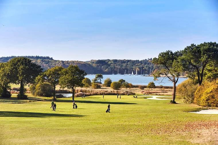Logo-Golf-Blue-Green-Baden-Golfe-du-Morbihan-Bretagne sud © Blue Green