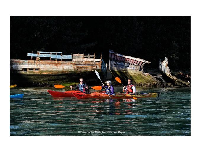 Kerners-Kayak-Le-Logeo-Sarzeau-Presqu'île-de-Rhuys-Golfe-du-Morbihan-Bretagne sud © François Van Malleghem