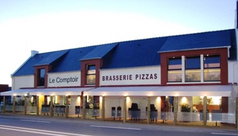 Brasserie pizzeria Le comptoir - Morbihan - Bretagne Sud © Laurent Delafosse