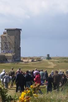 Visite guidée du Mur de l'Atlantique du Bégo à Plouharnel