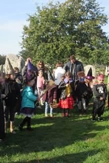 Les Menhirs d'Halloween : Balades contées