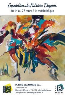 Exposition de Patricia Duguin