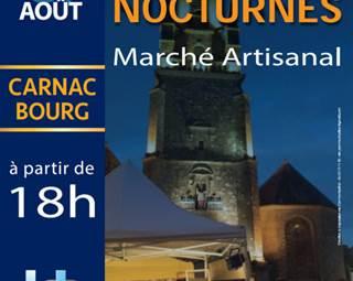 Marché nocturne Fest Noz - Carnac - Morbihan Bretagne Sud ©