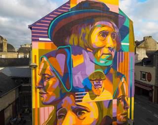 découvrir vannes par le street art-centre ville-golfe du morbihan-bretagne sud © street art avenue