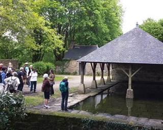 Visite guidée de Questembert - Le Lavoir - Morbihan - Bretagne Sud © Rochefort-en-Terre Tourisme