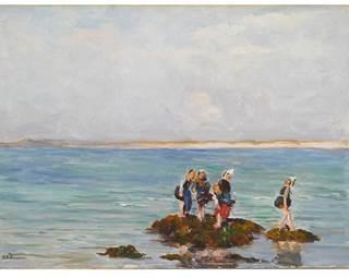 exposition-joseph-felix bouchor-musée des beaux-arts-vannes-golfe du morbihan-bretagne sud © mairie de vannes