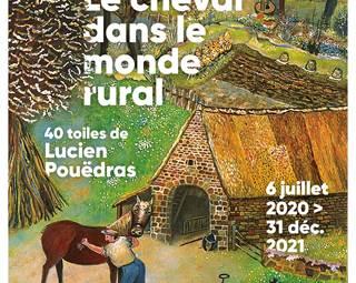L'attraction cheval, le cheval de trait dans le monde rural avant 1950 Lucien Pouëdras ©