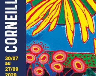 Exposition Corneille à la Galerie du Bord de l'Eau ©