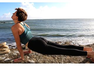 Yoga Chez soi avec Vanessa-Quiberon-Morbihan-Bretagne Sud © Yoga Chez soi avec Vanessa