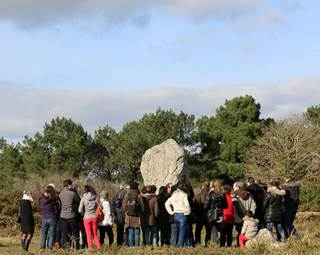 Visite conférences alignements - Carnac - Morbihan Bretagne Sud ©