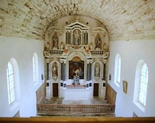 Détour d'Art - Visite guidée de la chapelle Saint-Quirin – Brec'h  © OT Auray