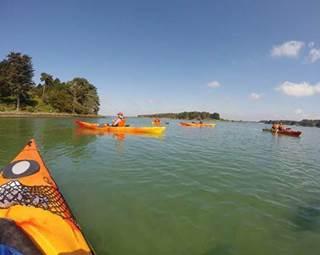 sortie-kayak-bono-rivière-auray-vannes-golfe-du-morbihan-bretagne-sud ©