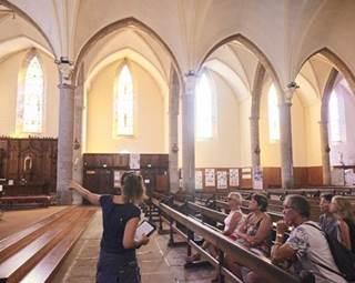 Visite guidée de Questembert - L'église - Morbihan - Bretagne Sud © R.BURBANT