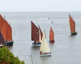 Grandes-Régates-Port-Navalo-Arzon-Presqu'île-de-Rhuys-Golfe-du-Morbihan-Bretagne sud ©