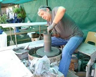 Démonstration de poterie - Mardis de Pays © Michel Chantepie