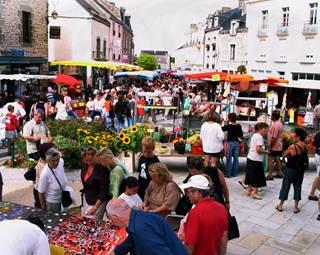 Marché de Questembert © RETT