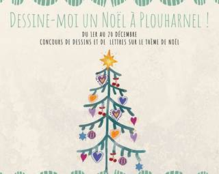 CONCOURS Dessine-moi Noël-Plouharnel-Morbihan-Bretagne Sud © CONCOURS Dessine-moi Noël