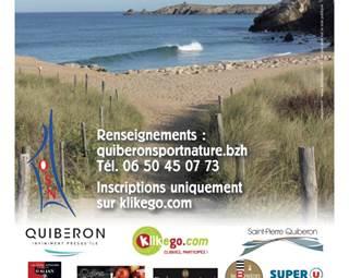 Affiche-Course Nature Entre Lande et Océan-Quiberon-Morbihan-Bretagne Sud ©