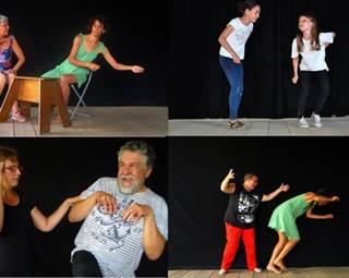 Atelier théâtre d'improvisation  ©