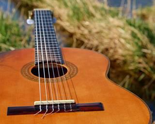 concert accordéon guitare - ile d'arz - golfe du morbihan - bretagne sud ©
