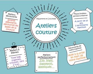Ateliers couture © PAQUERETTE ET COCCINELLE