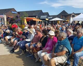 Public chants de marins 2017 © Erd'évènement Vôtre