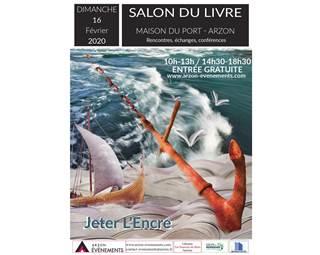 Salon-Livres-Arzon-Morbihan-Bretagne Sud © Arzon Évènements