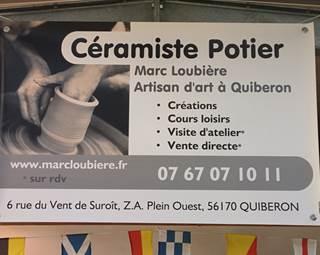 Tour de potier Marc Loubière-Quiberon-Morbihan-Bretagne Sud © Tour de potier Marc Loubière-Quiberon-Morbihan-Bretagne Sud