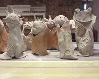 Atelier poterie - Lauzach ©
