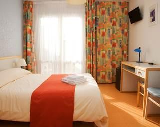 chambre de plain pied avec terrasse privative ©
