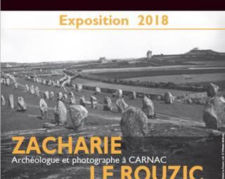 Exposition Zacharie Le Rouzic - carnac - Morbihan Bretagne Sud ©