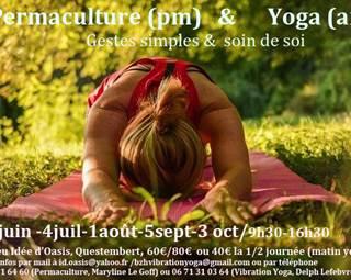 Permaculture et yoga - Questembert ©