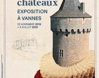 Portraits de châteaux - Vannes - Golfe du Morbihan - Bretagne Sud © @Archives Départementales