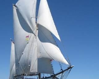 Croisière Vieux Gréement, de quelques heures à plusieurs jours, sur un voilier du patrimoine, au départ de Port Haliguen, Port Blanc, Etel, Lorient.. ©