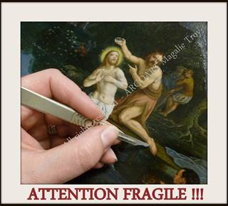 Restauration - Conservation de Peinture : ARCOART Magalie TROY