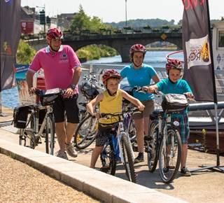 Location de vélos par l'Office de tourisme Pontivy Communauté