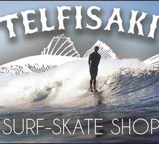Vente et location surf Telfisaki : Telfisaki Surf - Skate shop