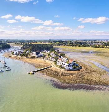 Plage de Conleau-Vannes-Golfe-du-Morbihan-Bretagne sud