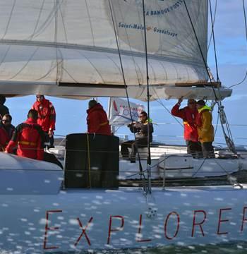 Faites partie de l'équipage d'Explorer, maxi catamaran de course