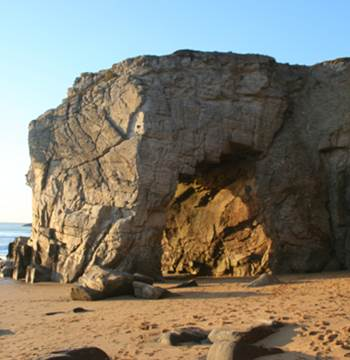 Côte Sauvage Arche de Port Blanc Quiberon Morbihan Bretagne Sud