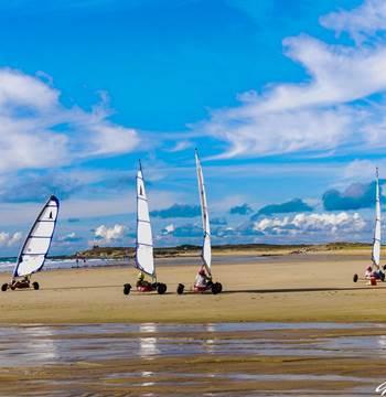 Zef Attitud' Char à Voile-St Pierre Quiberon-Morbihan-Bretagne Sud