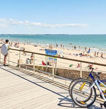 Grande plage Damgan Morbihan