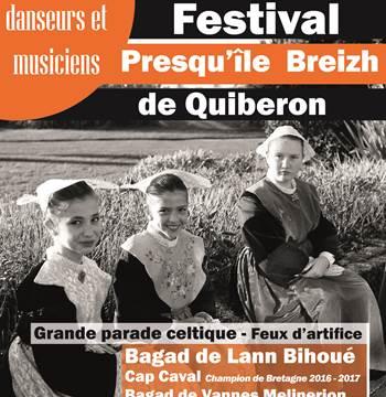 Festival Presqu'ile Breizh-Quiberon-Morbihan Bretagne Sud